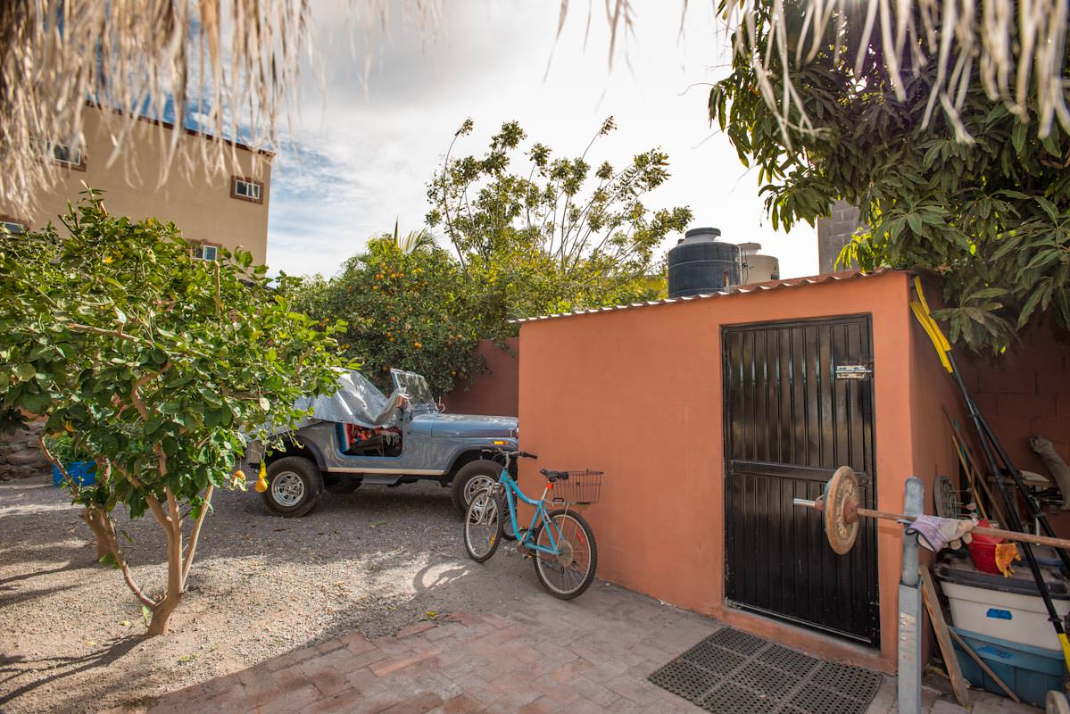 Casita and Trailer on Large Lot