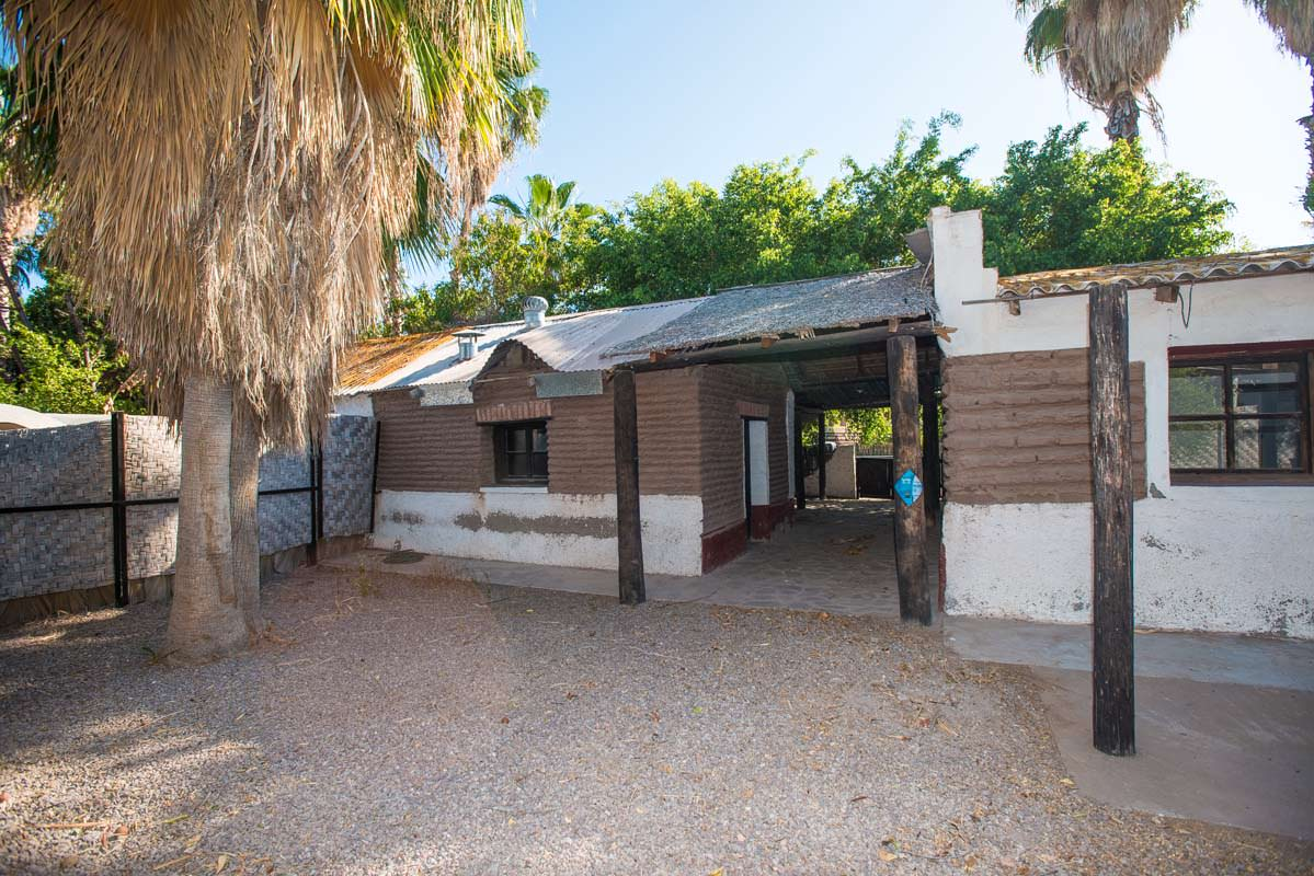 Adobe Building in the Historic District of Loreto Baja Sur