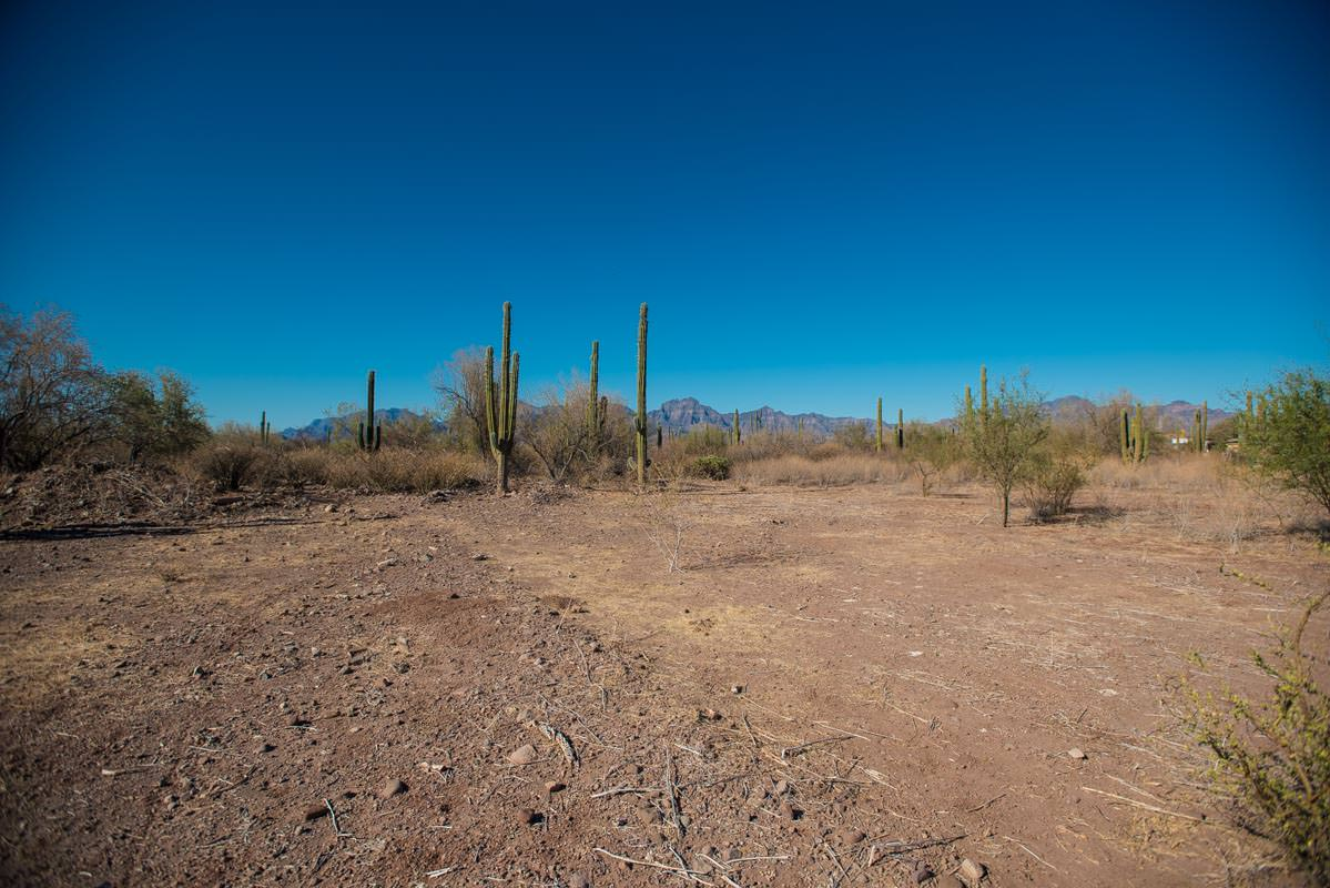 Land for Sale on the Road into Loreto International Airport