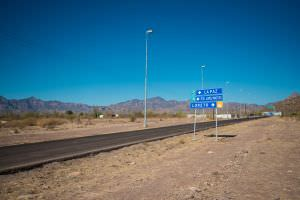 Loreto land available on road to international airport