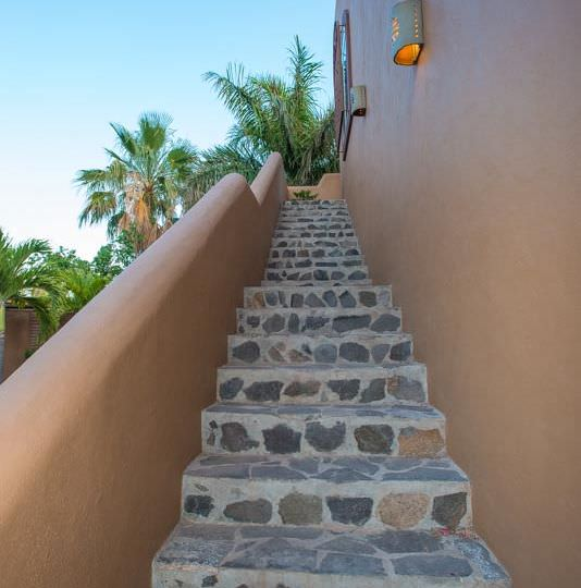 Great Turn Key Property in Loreto Two bedrooms Two Bath Natural stone stairs