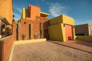 Contemporary Comfortable Home Near the Sea in Loreto Baja Sur: Front of House 2