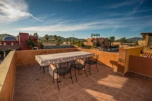 Contemporary Comfortable Home Near the Sea in Loreto Baja Sur: Great mountain views from terrace