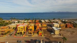 Aerial View of Casa in Costa Loreto 1