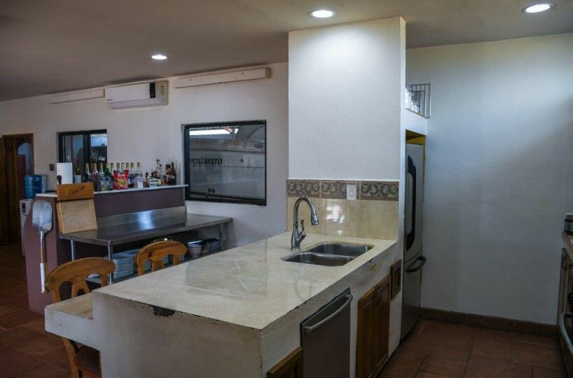 Popular Restaurant and Residence for Sale in Loreto, Baja Sur: Kitchen