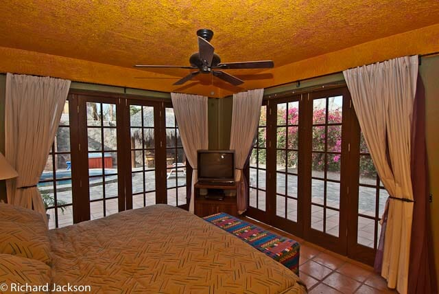 Hacienda Style Mexican Home in Loreto master bedroom 3