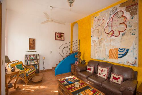 Two bed Two bath home for sale in Loreto with Mexican Style and Color!