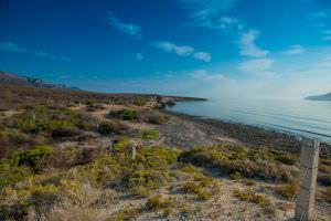 Beachfront Land North of Loreto with amazing Coronado Island Views! El Bajo Beachfront land Sea Views