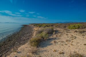 eachfront Land North of Loreto with amazing Coronado Island Views!