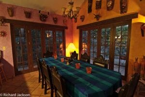 Hacienda Style Mexican Home in Loreto dinning room