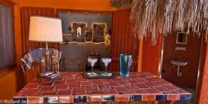 Hacienda Style Mexican Home in Loreto pool bar 2