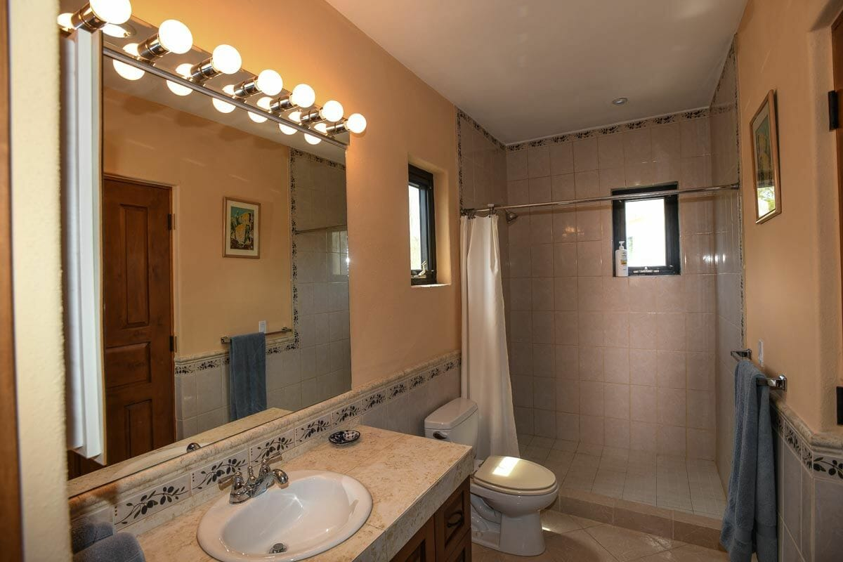 Home for sale in Nopolo, Loreto Baja Sur, Move in Ready!: guest bath