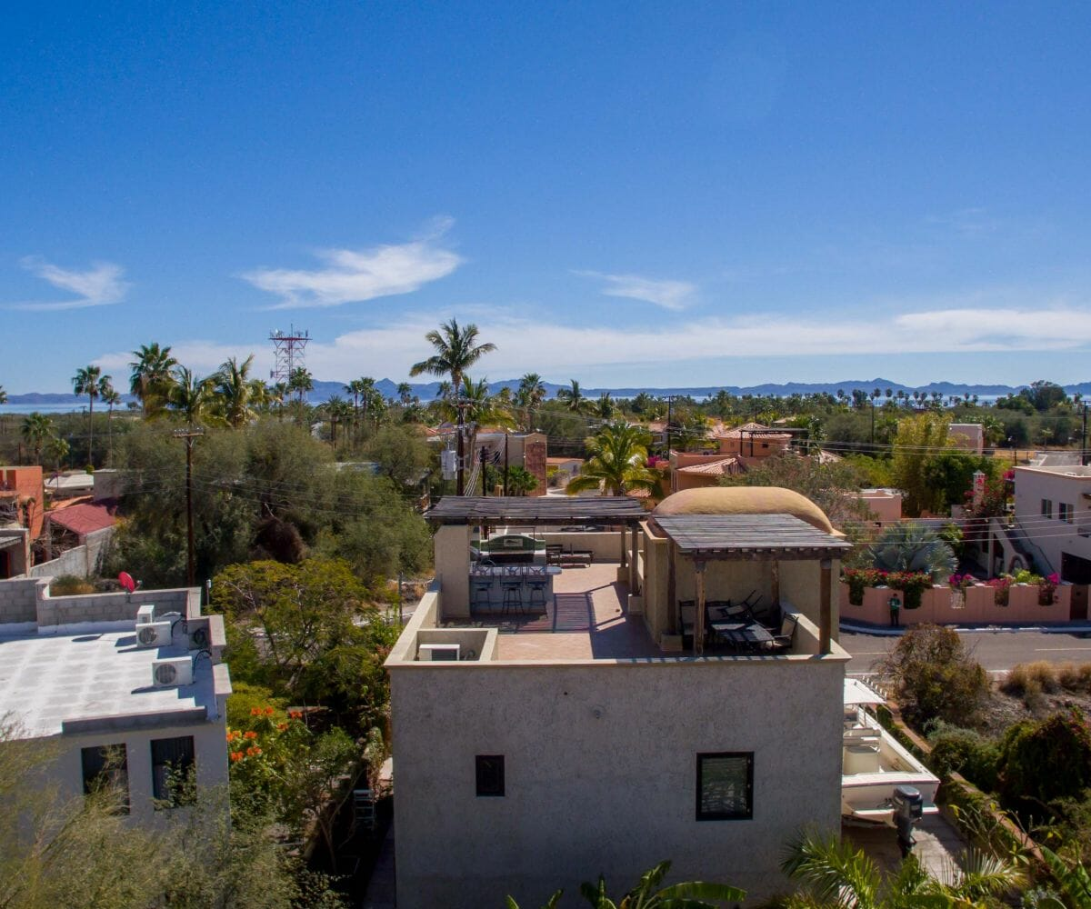 Home for sale in Nopolo, Loreto Baja Sur, Move in Ready!: view of large roof terrace