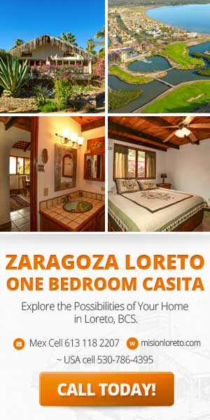 Zaragoza Loreto, One bedroom Casita for sale.