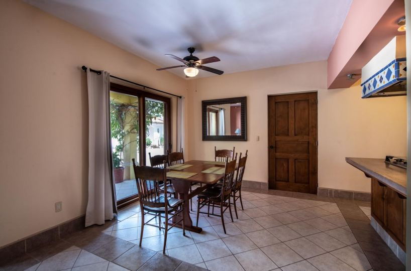 Casa Dos in Casa Escondido's: Casa Dos dining. 2 Bd 2 Bth Hm in private neighborhood, Loreto.