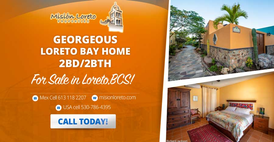 Gorgeous Loreto Bay Home Banner Ad 900X469